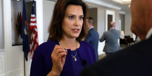 Governor Whitmer, Request Funds from FEMA