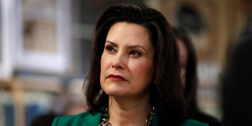 Whitmer Refuses To Answer Reporters On Who Paid For Private Plane For Florida Trip