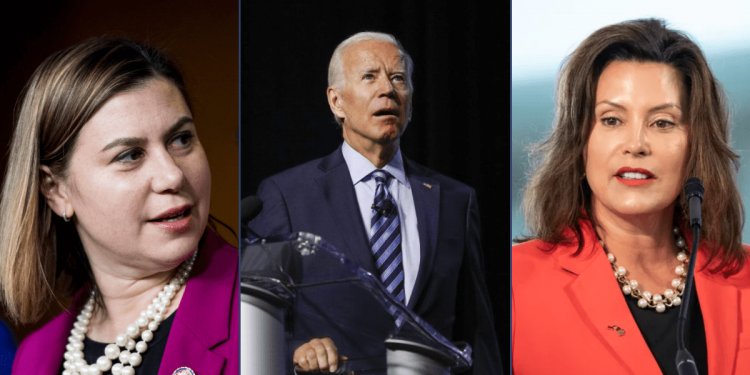 Gretchen Whitmer and Elissa Slotkin All-In for Joe Biden and His Radical Policies