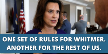 Campaign Finance Complaint Filed Against Donors Who Gave Over $100,000 to Whitmer Campaign